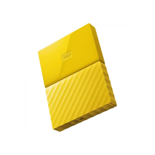 WD MY PASSPORT PORTABLE STORAGE 1TB YELLOW [WDBYNN0010BYL-WESN]