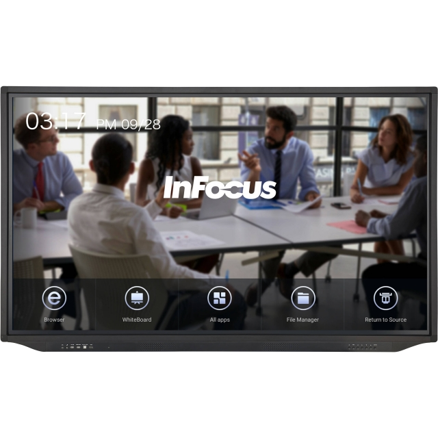 inFocus Jtouch JTouch Plus 65-inch 4K Anti-Glare Display with Android for K-12 (INF6533e)
